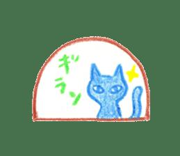 Hand-painted Halloween illustration sticker #736445