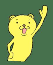 Every day of the KUMATA sticker #736503