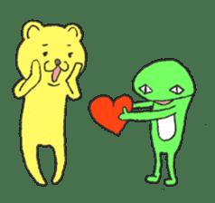 Every day of the KUMATA sticker #736506