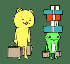 Every day of the KUMATA sticker #736534