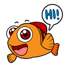Nong Deepo - the cute Fish - First Set sticker #736583