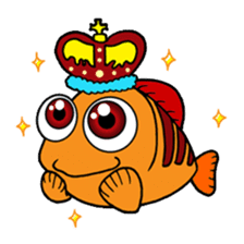 Nong Deepo - the cute Fish - First Set sticker #736584
