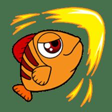 Nong Deepo - the cute Fish - First Set sticker #736587