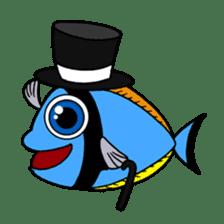 Nong Deepo - the cute Fish - First Set sticker #736588