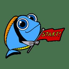 Nong Deepo - the cute Fish - First Set sticker #736590