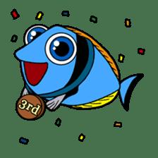 Nong Deepo - the cute Fish - First Set sticker #736591