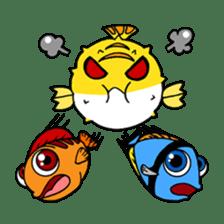 Nong Deepo - the cute Fish - First Set sticker #736593