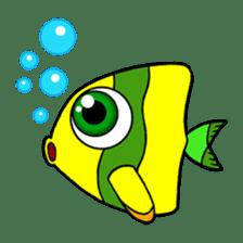 Nong Deepo - the cute Fish - First Set sticker #736598