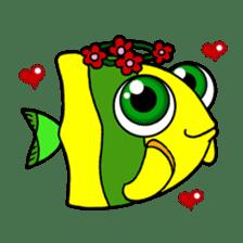 Nong Deepo - the cute Fish - First Set sticker #736599