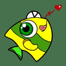 Nong Deepo - the cute Fish - First Set sticker #736602