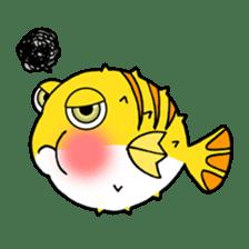Nong Deepo - the cute Fish - First Set sticker #736604