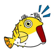 Nong Deepo - the cute Fish - First Set sticker #736606