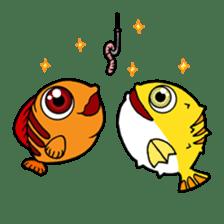 Nong Deepo - the cute Fish - First Set sticker #736609