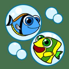 Nong Deepo - the cute Fish - First Set sticker #736620