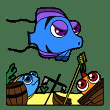 Nong Deepo - the cute Fish - First Set sticker #736622