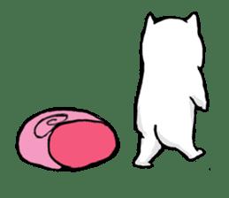 Snail cat sticker #736722