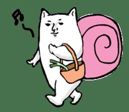 Snail cat sticker #736730