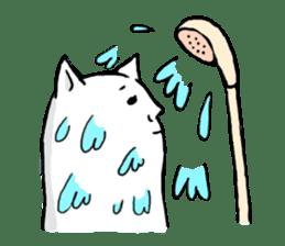 Snail cat sticker #736731