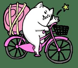 Snail cat sticker #736736