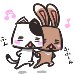 box rabbit & box cat