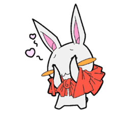 Rabbit of Little Red Riding Hood sticker #738226