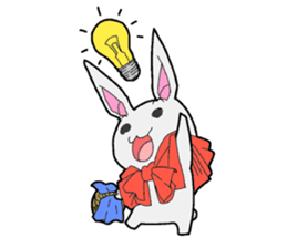 Rabbit of Little Red Riding Hood sticker #738229