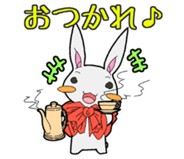 Rabbit of Little Red Riding Hood sticker #738249