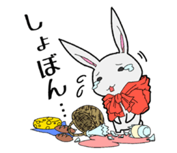 Rabbit of Little Red Riding Hood sticker #738253