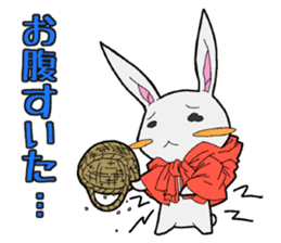 Rabbit of Little Red Riding Hood sticker #738255