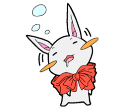 Rabbit of Little Red Riding Hood sticker #738259