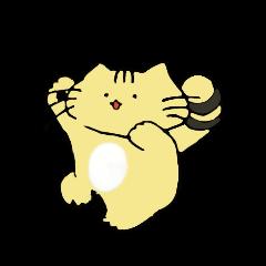 Tiger cat Sticker