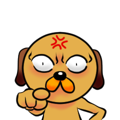 Googly dog(Anger Edition)