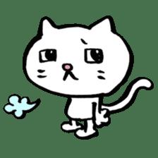 Rice cake cat sticker #739308