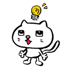 Rice cake cat sticker #739309
