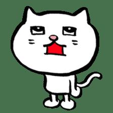 Rice cake cat sticker #739318