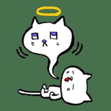 Rice cake cat sticker #739325