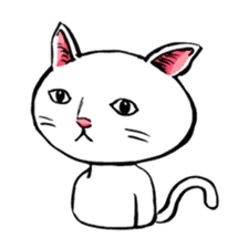 Rice cake cat sticker #739342