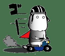 Shimobukure Man sticker #740282