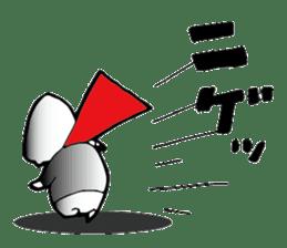 Shimobukure Man sticker #740284