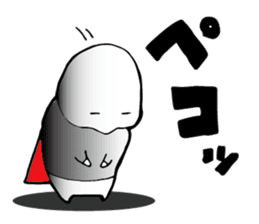 Shimobukure Man sticker #740286