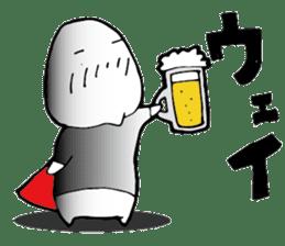 Shimobukure Man sticker #740294