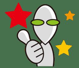 Stray Alien sticker #740866