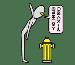 Stray Alien sticker #740891