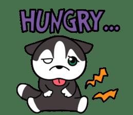 Sora, the cute siberian husky sticker #741799