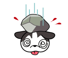 Sora, the cute siberian husky sticker #741806