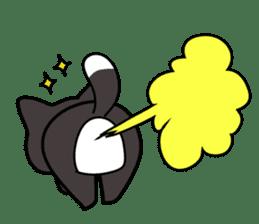 Sora, the cute siberian husky sticker #741814