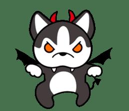 Sora, the cute siberian husky sticker #741820