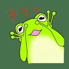 Freewheeling frog sticker #746206