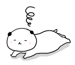Rice cake dog sticker sticker #747824