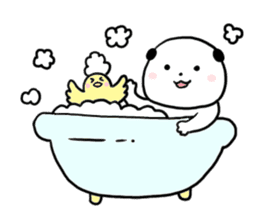 Rice cake dog sticker sticker #747858